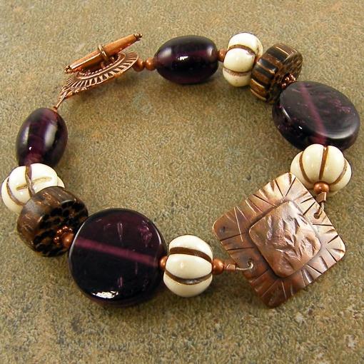 purple-and-copper-bracelet