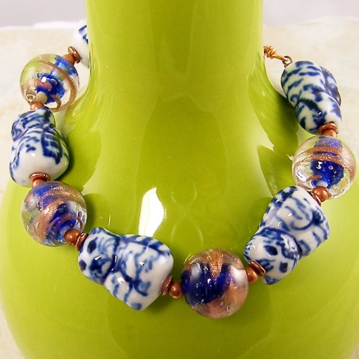Cat Bead Bracelet